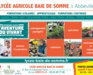 PORTES OUVERTES AU LYCÉE AGRICOLE DE LA BAIE DE SOMME