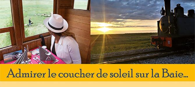 ADMIREZ LE COUCHER DE SOLEIL SUR LA BAIE DE SOMME...