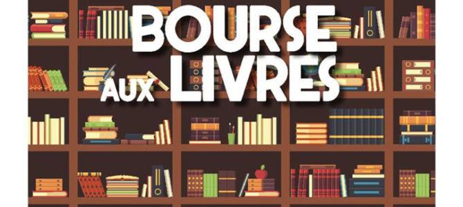 BOURSE AUX LIVRES…