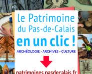 NOUVEAU : www.patrimoines.pasdecalais.fr