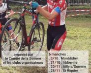 CHAMPIONNATS DE LA SOMME DE CYCLO CROSS